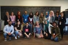 After 40 years of English as a Second Language(ESL) coaching, Renia Tyminski decided to make a shift in how ESL is being taught. In 2019, in collaboration with the Syrian Canadian Foundation, she created Cultural Connectors